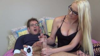 Big boob blonde vicky vee pov fucked