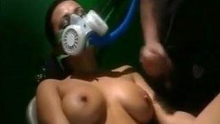 Gas mask porn