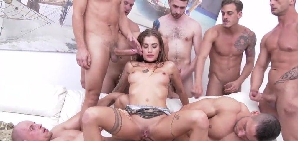 anal creampie gang
